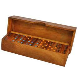 Wood Dominoes Game (Thailand) - Thumbnail 1