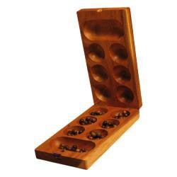 Wood Mancala/ Kalaha Game (Thailand)