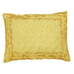 Chelsea Yellow 2-piece Twin-size Quilt Set - Thumbnail 1
