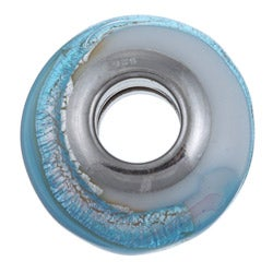 Sterling Essentials Sterling Silver Laguna Murano Glass Bead - Thumbnail 1