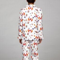 Leisureland Women's Japanese Print Pajamas Set - Thumbnail 1