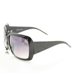 Women's 26557 Black Oversized Sunglasses