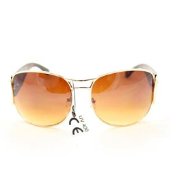 Women's M9273 Brown Fashion Sunglasses - Thumbnail 1