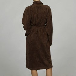 Unisex Chocolate Rayon from Bamboo Spa Bath Robe - Thumbnail 1