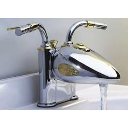 Designer Motorcycle 4-in Centerset Bar Faucet