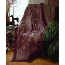 Levine Chenille Jacquard Throw - Thumbnail 1