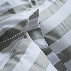 Club Stripe Full/ Queen-size Mini Duvet Cover Set - Thumbnail 1