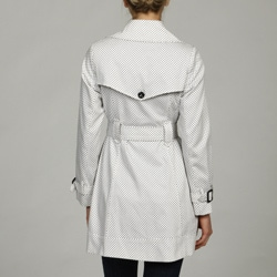 Tommy Hilfiger Women's Belted Trench Coat - Thumbnail 1