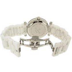 Thumbnail 2, Le Chateau Women's 'Persida LC' Studded Ceramic Watch. Changes active main hero.