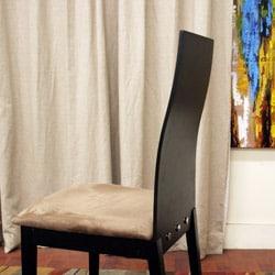 Lambert Dark Brown Dining Chairs (Set of 2) - Thumbnail 1