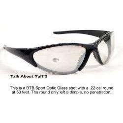 Shiny Black BTB-920 Sunglasses