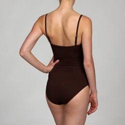 La Blanca Women's Brown Basketweave Swimsuit