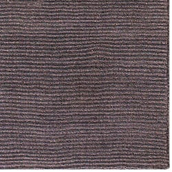 Hand-crafted Solid Brown Casual Ridges Wool Rug (6' x 9') - Thumbnail 1