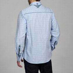 English Laundry Men's Wickersly Woven Shirt - Thumbnail 1