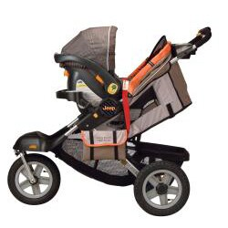 Jeep Liberty Sport X All-terrain Stroller in Sonar - Thumbnail 1