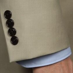 Nautica Men's 2-button Tan Wool Suit