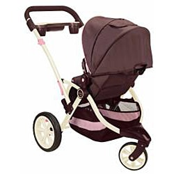 Contours Options 3-Wheeler Stroller in Blush - Thumbnail 1