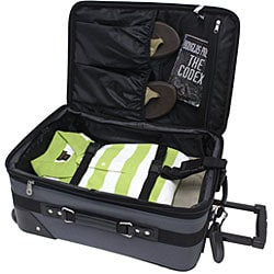 G Pacific Explorer 3-piece Ballistic Nylon Carry-on Luggage Set - Thumbnail 1