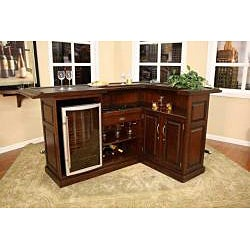 Salem Right Return Wood Home Bar Free Shipping Today