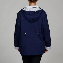 Mackintosh Women's Plus Size Water-resistant Hooded Jacket - Thumbnail 1