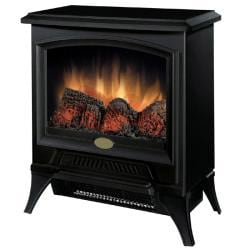 Dimplex Metal/ Glass Electric Flame Compact Stove - Thumbnail 1