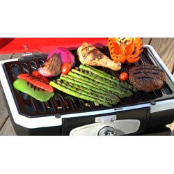 Thumbnail 2, Cuisinart CGG-180 Petit Gourmet Portable Gas Grill with VersaStand. Changes active main hero.