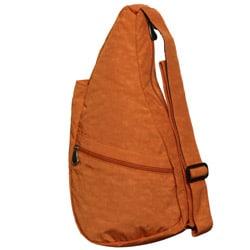 Ameribag Distressed Nylon Healthy Back Sling Bag - Thumbnail 1