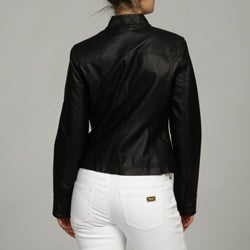 Black Rivet Women's Zip Front Jacket