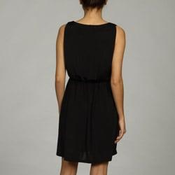 W118 by Walter Baker Womens V Neck Empire Waist Dress
