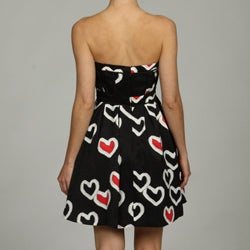 Jessica Simpson Women's Hearts Dress - Thumbnail 1
