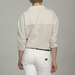 Jack Women's Gingham Plaid Button Down Shirt - Thumbnail 1