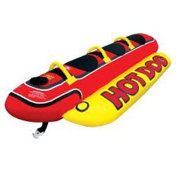 Airhead Hot Dog 3-rider In-line Towable - Thumbnail 1
