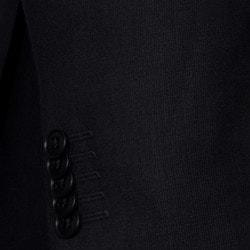 Ben Sherman Men's Charcoal Mini-Tic Wool Slim-fit Sportcoat - Thumbnail 1