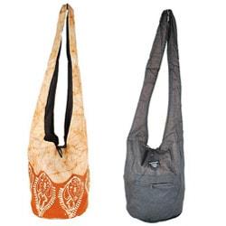 Cotton Batik Shoulder Bag (Nepal)