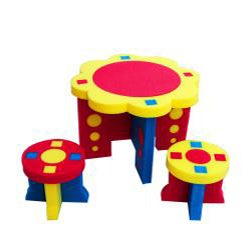 Sunflower Table and Stool Set