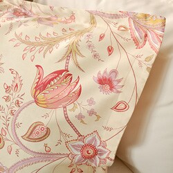 Florence Printed Cotton 3-piece Duvet Cover Set - Thumbnail 1