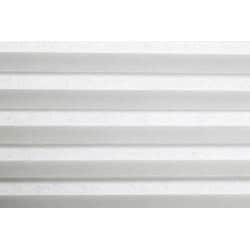 Arlo Blinds Honeycomb Cell Light-filtering Pure White Cellular Shades (26.5 x 60)
