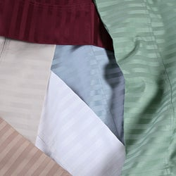 Cotton Damask 1500 Thread Count Sheet Set - Thumbnail 1