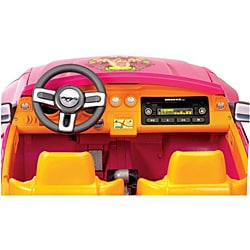 Fisher-Price Power Wheels Barbie Ford Mustang - Thumbnail 1