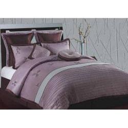 Splendor Purple and Aqua Queen-size 8-piece Comforter Set