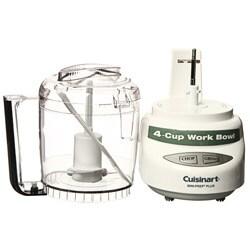 Cuisinart White Mini-prep Plus 4-cup Food Processor (Refurbished) - Thumbnail 1