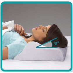 Sleep Innovations Rejuvenation Perfect Sleep Angle Memory Foam Pillow - Thumbnail 1