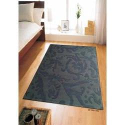 Hand-tufted Disco Grey Wool Rug (8' x 11')