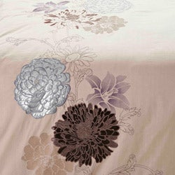Fieldstone Embroidered 3-Piece Duvet Cover Set - Thumbnail 1