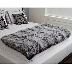 Marmot Faux Fur Throw - Thumbnail 1