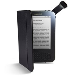 Lighted Leather Kindle Cover (Refurbished)