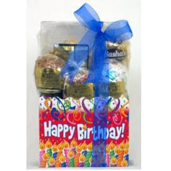 Gift Techs Mountain Birthday Large Gourmet Snack Food Gift Box