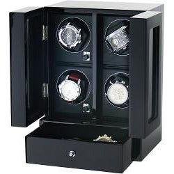 Kreisler Lifestyle Quad Watch Winder Tower - Thumbnail 1