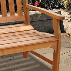 Shop Casimir Outdoor Wood Bench Free Shipping Today