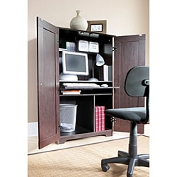 akadaHome Home Office Computer Armoire - Thumbnail 1